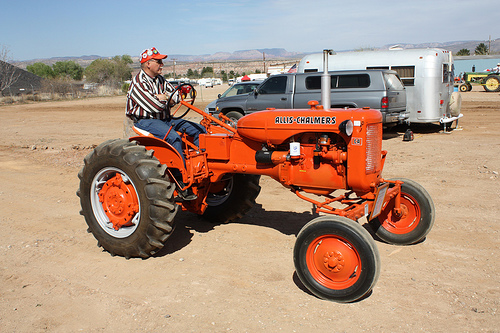 History Of An Antique Tractors Brand  U2013 The Allis
